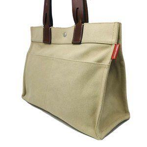 Dooney & Bourke Canvas Beige Tote Handbag